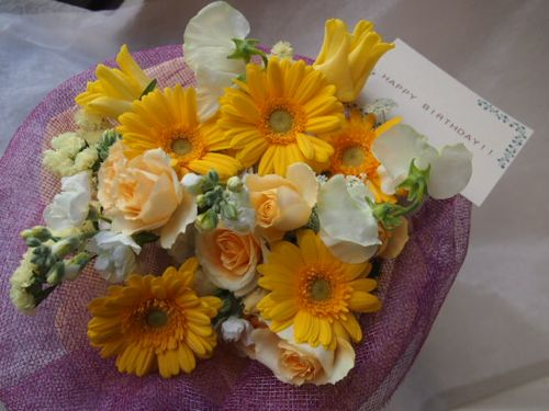 花ギフト|フラワーギフト|誕生日 花|カノシェ話題|スタンド花|ウエディングブーケ|花束|花屋|46244