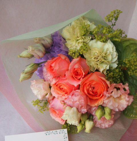 花ギフト|フラワーギフト|誕生日 花|カノシェ話題|スタンド花|ウエディングブーケ|花束|花屋|41070