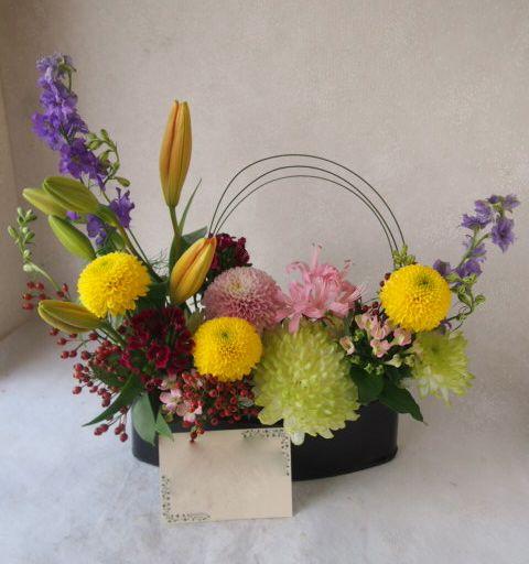 花ギフト|フラワーギフト|誕生日 花|カノシェ話題|スタンド花|ウエディングブーケ|花束|花屋|51704
