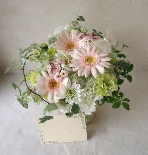 花ギフト|フラワーギフト|誕生日 花|カノシェ話題|スタンド花|ウエディングブーケ|花束|花屋|56909