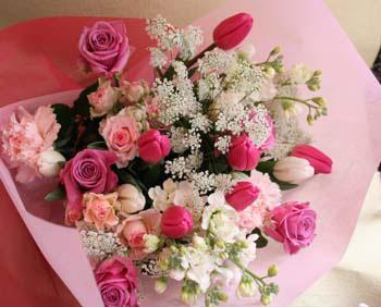 花ギフト|フラワーギフト|誕生日 花|カノシェ話題|スタンド花|ウエディングブーケ|花束|花屋|まさみさん ピンク