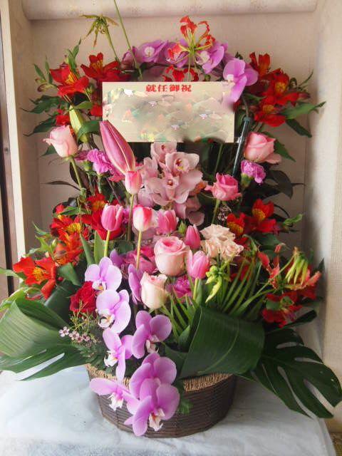 花ギフト|フラワーギフト|誕生日 花|カノシェ話題|スタンド花|ウエディングブーケ|花束|花屋|53944