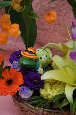 花ギフト|フラワーギフト|誕生日 花|カノシェ話題|スタンド花|ウエディングブーケ|花束|花屋|kaeruniisan2