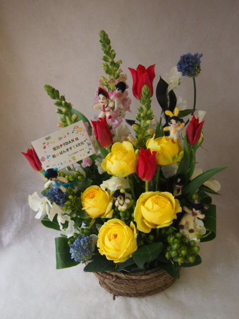 花ギフト|フラワーギフト|誕生日 花|カノシェ話題|スタンド花|ウエディングブーケ|花束|花屋|45642