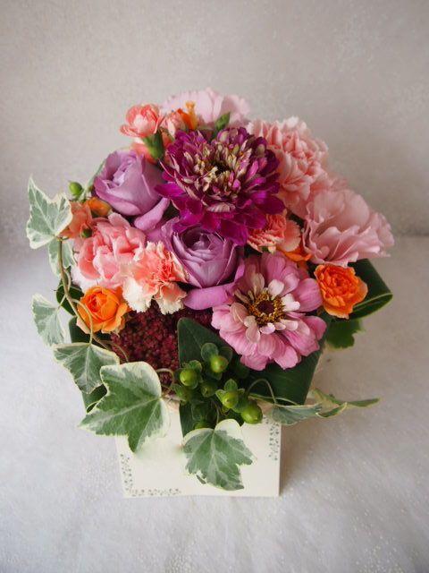 花ギフト|フラワーギフト|誕生日 花|カノシェ話題|スタンド花|ウエディングブーケ|花束|花屋|58170