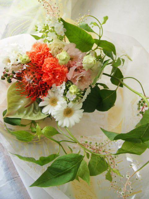 花ギフト|フラワーギフト|誕生日 花|カノシェ話題|スタンド花|ウエディングブーケ|花束|花屋|56980