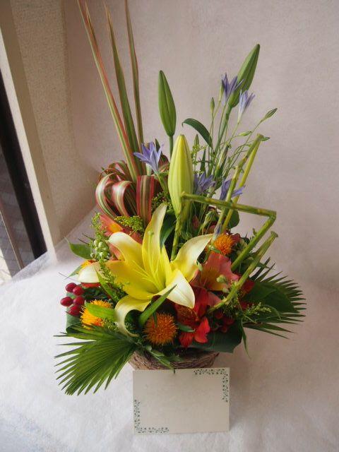 花ギフト|フラワーギフト|誕生日 花|カノシェ話題|スタンド花|ウエディングブーケ|花束|花屋|40607