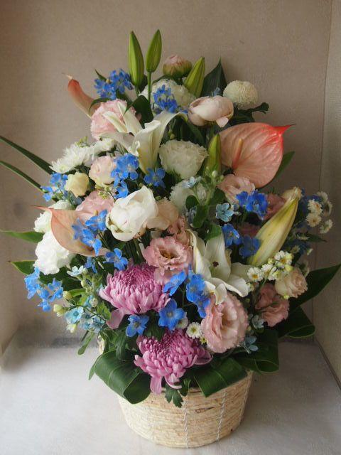 花ギフト|フラワーギフト|誕生日 花|カノシェ話題|スタンド花|ウエディングブーケ|花束|花屋|55608