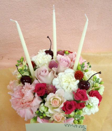 花ギフト|フラワーギフト|誕生日 花|カノシェ話題|スタンド花|ウエディングブーケ|花束|花屋|cake-ayumi