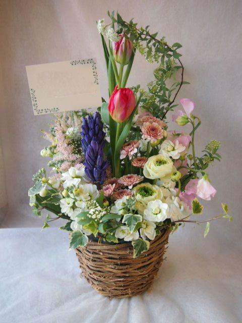 花ギフト|フラワーギフト|誕生日 花|カノシェ話題|スタンド花|ウエディングブーケ|花束|花屋|45521