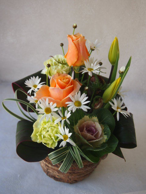 花ギフト|フラワーギフト|誕生日 花|カノシェ話題|スタンド花|ウエディングブーケ|花束|花屋|52983