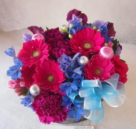 花ギフト|フラワーギフト|誕生日 花|カノシェ話題|スタンド花|ウエディングブーケ|花束|花屋|46512