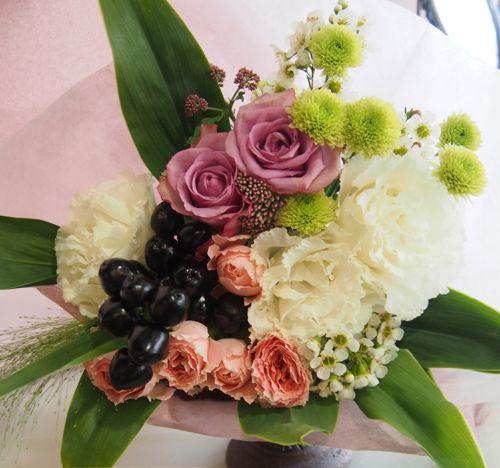 花ギフト|フラワーギフト|誕生日 花|カノシェ話題|スタンド花|ウエディングブーケ|花束|花屋|58046