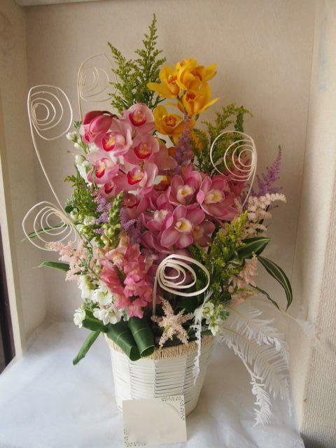 花ギフト|フラワーギフト|誕生日 花|カノシェ話題|スタンド花|ウエディングブーケ|花束|花屋|54101