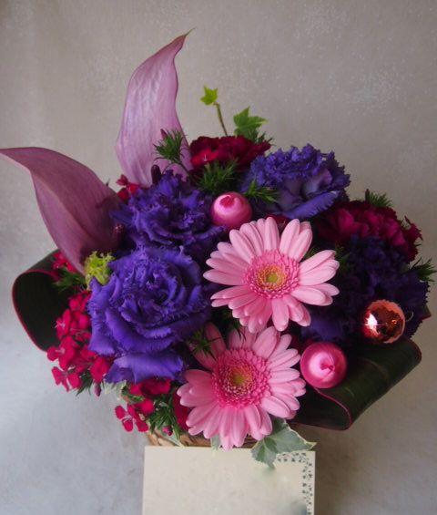 花ギフト|フラワーギフト|誕生日 花|カノシェ話題|スタンド花|ウエディングブーケ|花束|花屋|51927