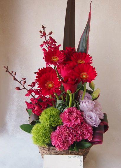 花ギフト|フラワーギフト|誕生日 花|カノシェ話題|スタンド花|ウエディングブーケ|花束|花屋|48818