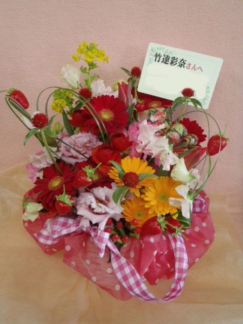 花ギフト|フラワーギフト|誕生日 花|カノシェ話題|スタンド花|ウエディングブーケ|花束|花屋|ichigo-ayumi