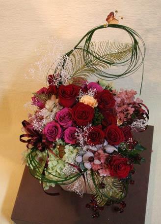 花ギフト|フラワーギフト|誕生日 花|カノシェ話題|スタンド花|ウエディングブーケ|花束|花屋|aka-chika