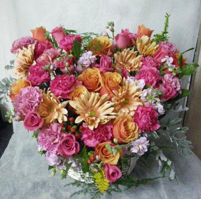 花ギフト フラワーギフト 誕生日 花 カノシェ話題 スタンド花 ウエディングブーケ 花束 花屋 1217