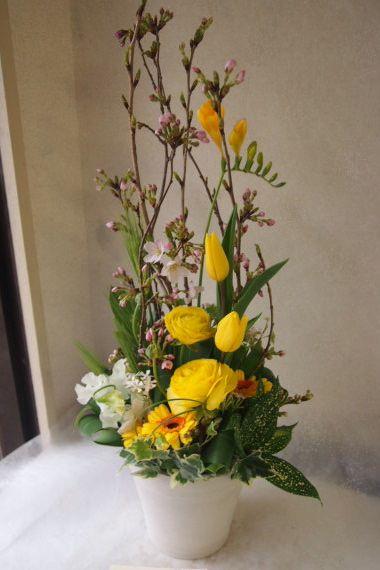 花ギフト|フラワーギフト|誕生日 花|カノシェ話題|スタンド花|ウエディングブーケ|花束|花屋|54553