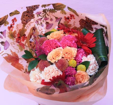 花ギフト|フラワーギフト|誕生日 花|カノシェ話題|スタンド花|ウエディングブーケ|花束|花屋|2015_keiro_b