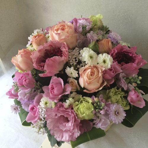花ギフト|フラワーギフト|誕生日 花|カノシェ話題|スタンド花|ウエディングブーケ|花束|花屋|IMG_9919