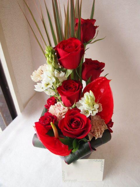 花ギフト|フラワーギフト|誕生日 花|カノシェ話題|スタンド花|ウエディングブーケ|花束|花屋|40650