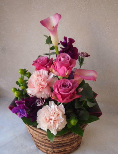 花ギフト|フラワーギフト|誕生日 花|カノシェ話題|スタンド花|ウエディングブーケ|花束|花屋|53463