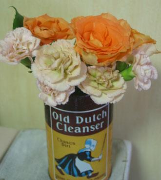 花ギフト フラワーギフト 誕生日 花 カノシェ話題 スタンド花 ウエディングブーケ 花束 花屋 缶