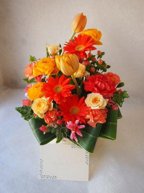 花ギフト|フラワーギフト|誕生日 花|カノシェ話題|スタンド花|ウエディングブーケ|花束|花屋|52838