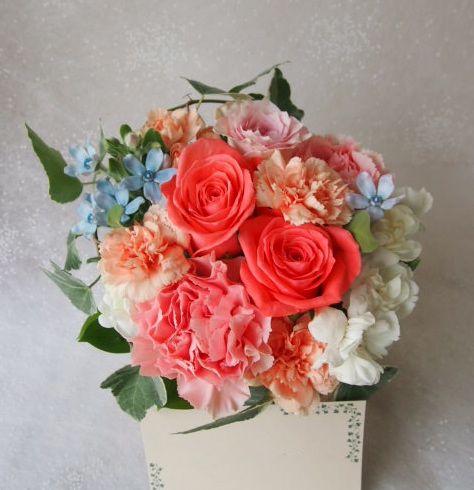 花ギフト|フラワーギフト|誕生日 花|カノシェ話題|スタンド花|ウエディングブーケ|花束|花屋|57807