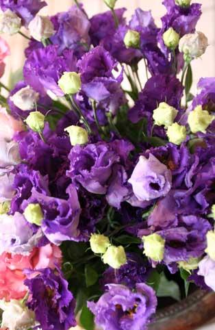 花ギフト|フラワーギフト|誕生日 花|カノシェ話題|スタンド花|ウエディングブーケ|花束|花屋|紫