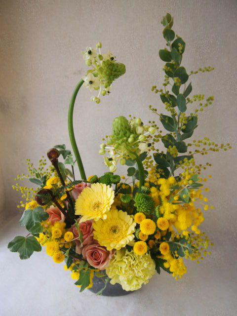 花ギフト|フラワーギフト|誕生日 花|カノシェ話題|スタンド花|ウエディングブーケ|花束|花屋|48276(2)