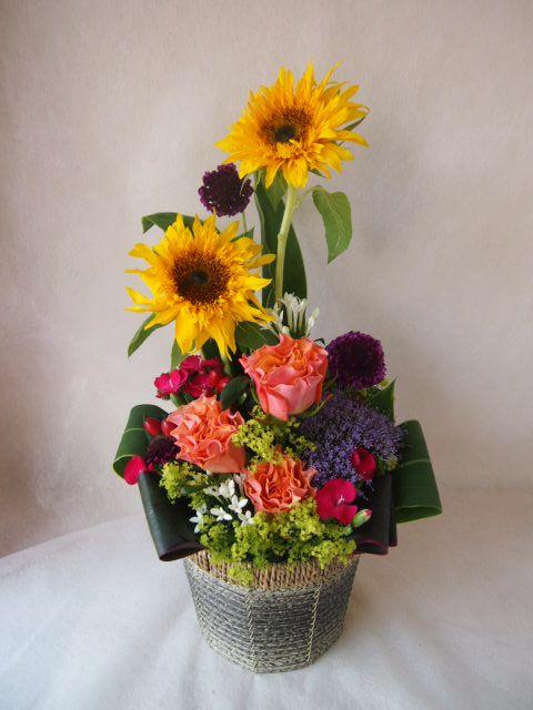 花ギフト|フラワーギフト|誕生日 花|カノシェ話題|スタンド花|ウエディングブーケ|花束|花屋|28301(1)