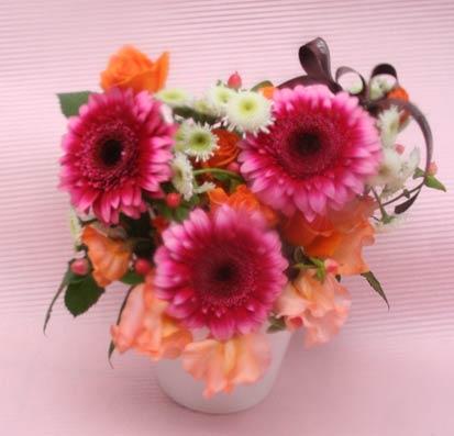 花ギフト|フラワーギフト|誕生日 花|カノシェ話題|スタンド花|ウエディングブーケ|花束|花屋|IMG_6377