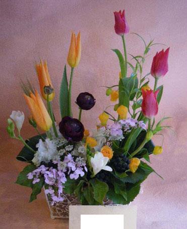 花ギフト フラワーギフト 誕生日 花 カノシェ話題 スタンド花 ウエディングブーケ 花束 花屋 dance