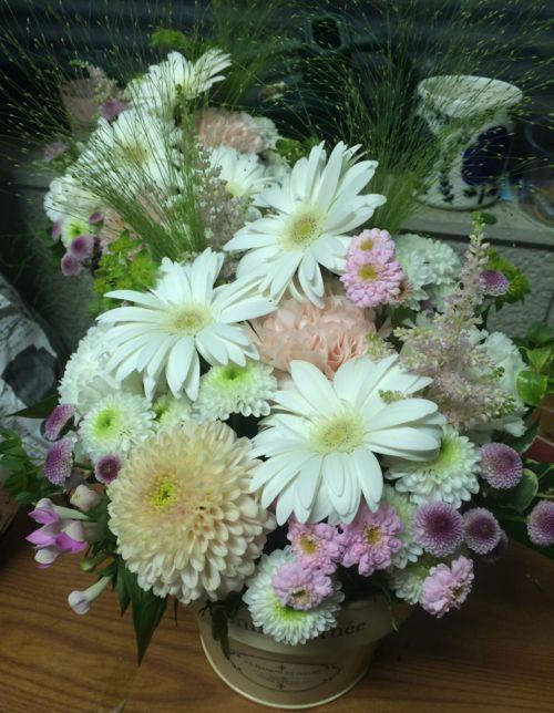 花ギフト|フラワーギフト|誕生日 花|カノシェ話題|スタンド花|ウエディングブーケ|花束|花屋|IMG_5135