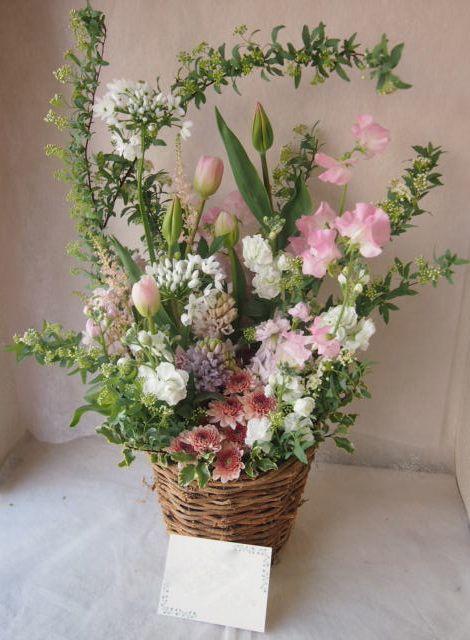 花ギフト|フラワーギフト|誕生日 花|カノシェ話題|スタンド花|ウエディングブーケ|花束|花屋|46246