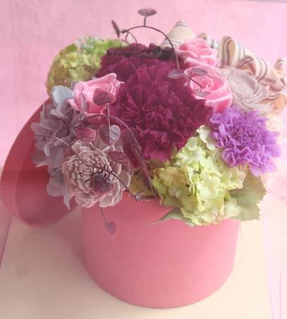 花ギフト|フラワーギフト|誕生日 花|カノシェ話題|スタンド花|ウエディングブーケ|花束|花屋|pri_violet