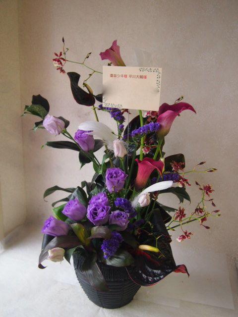 花ギフト|フラワーギフト|誕生日 花|カノシェ話題|スタンド花|ウエディングブーケ|花束|花屋|50356