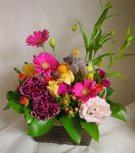 花ギフト|フラワーギフト|誕生日 花|カノシェ話題|スタンド花|ウエディングブーケ|花束|花屋|45363