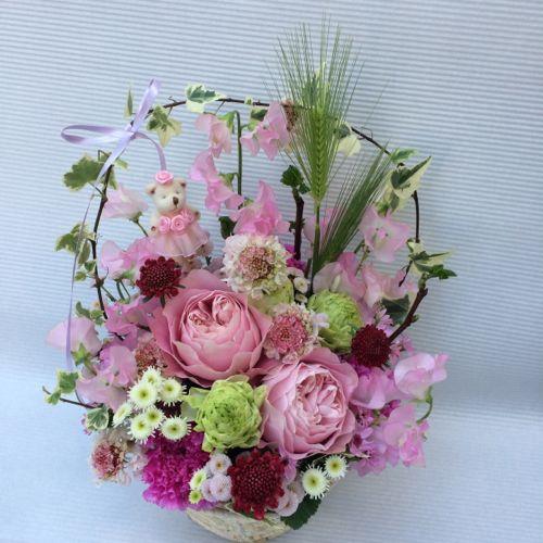 花ギフト|フラワーギフト|誕生日 花|カノシェ話題|スタンド花|ウエディングブーケ|花束|花屋|IMG_9248