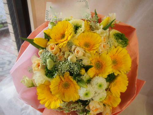 花ギフト|フラワーギフト|誕生日 花|カノシェ話題|スタンド花|ウエディングブーケ|花束|花屋|45966