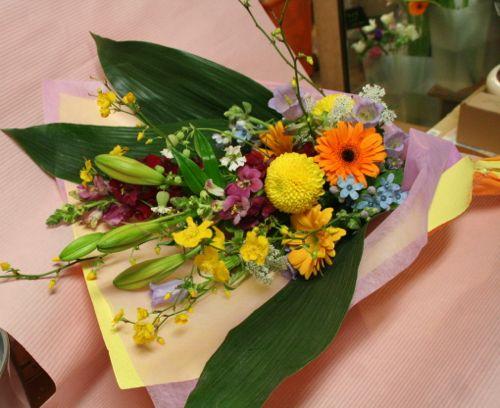 花ギフト|フラワーギフト|誕生日 花|カノシェ話題|スタンド花|ウエディングブーケ|花束|花屋|IMG_1129