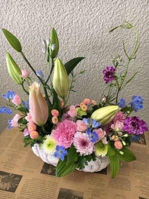 花ギフト|フラワーギフト|誕生日 花|カノシェ話題|スタンド花|ウエディングブーケ|花束|花屋|IMG_0992