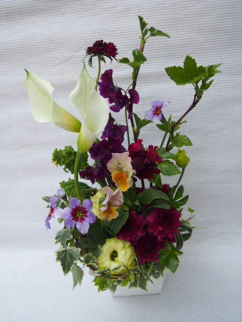 花ギフト|フラワーギフト|誕生日 花|カノシェ話題|スタンド花|ウエディングブーケ|花束|花屋|48276(3)