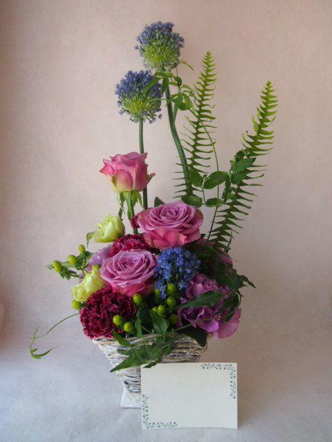 花ギフト|フラワーギフト|誕生日 花|カノシェ話題|スタンド花|ウエディングブーケ|花束|花屋|40899