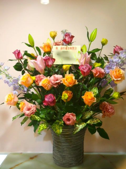 花ギフト|フラワーギフト|誕生日 花|カノシェ話題|スタンド花|ウエディングブーケ|花束|花屋|53561