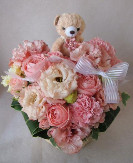 花ギフト|フラワーギフト|誕生日 花|カノシェ話題|スタンド花|ウエディングブーケ|花束|花屋|41951