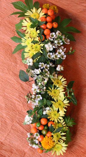 花ギフト|フラワーギフト|誕生日 花|カノシェ話題|スタンド花|ウエディングブーケ|花束|花屋|ゆかこさん テーブルセンタ